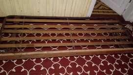 Carrito tijera bajo cama