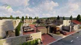VILLA SIENA. Casas de 92m2 construcción más 16m2 jardín