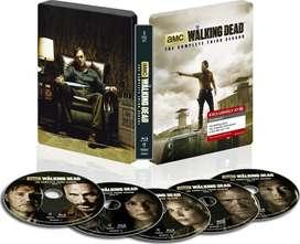 serie DVD walking dead en dvd