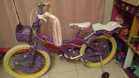 Bicicleta Rodado 20, Poco Uso.