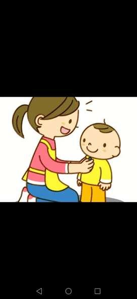 Se cuidan niños pequeños