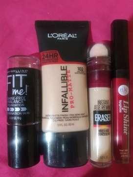 Combos de maquillajes
