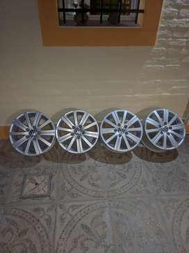 Llantas de Aleacion-Volkswagen Vento