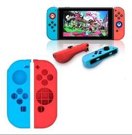 Funda Protector Silicona Antideslizante Para Nintendo Switch CC Monterrey local sotano 5