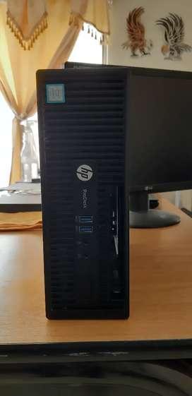 EQUIPO COMPLETO HP ProDesk 400 G3 SFF  Intel Core i7-6700-  8GB DDR4  120GB SSD MONITOR 19 PUL. MOUSE TECLADO GARANTIA