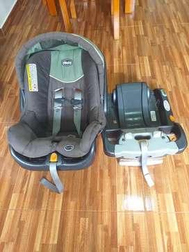 Silla seguridad carro bebé CHICCO