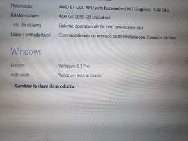 Portatil Samsung, windows 8