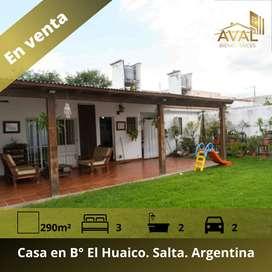 Casa en Barrio El Huaico