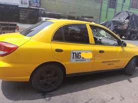Vencambio Taxi amarillo placa de Envigado  operación de pueblo doy a librar con una inicial recibo