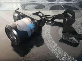 Sony NEX3 + Lente Sony 18-55 + Lente Pentax 500mm