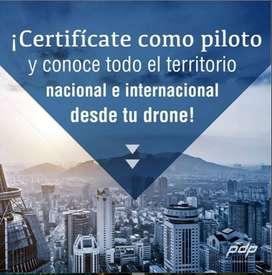 CERTIFICACIÓN PILOTO PROFESIONAL DE DRON.