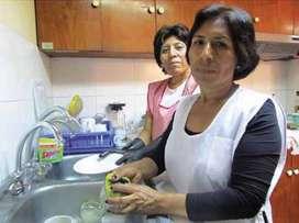 Se busca señora para trabajos de casa y cocina en Lince por horas