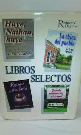 Libros Selectos Readers Digest 1998 4 novelas en 1 libro