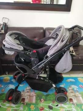 Coche maxybaby con silla
