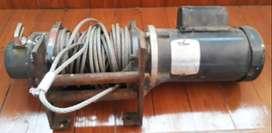 Tecle eléctrico 1.5ton (autocargable)