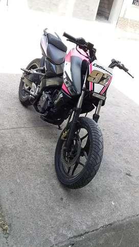 Moto Pulsar NS200 matricula al dia