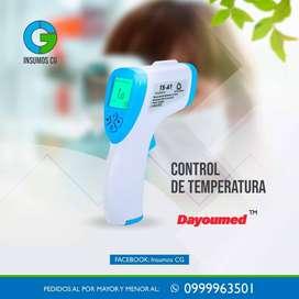 Termómetro infrarrojo certificaciones ISO, ROsH