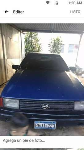 Vendo Hyunday excel año 1987