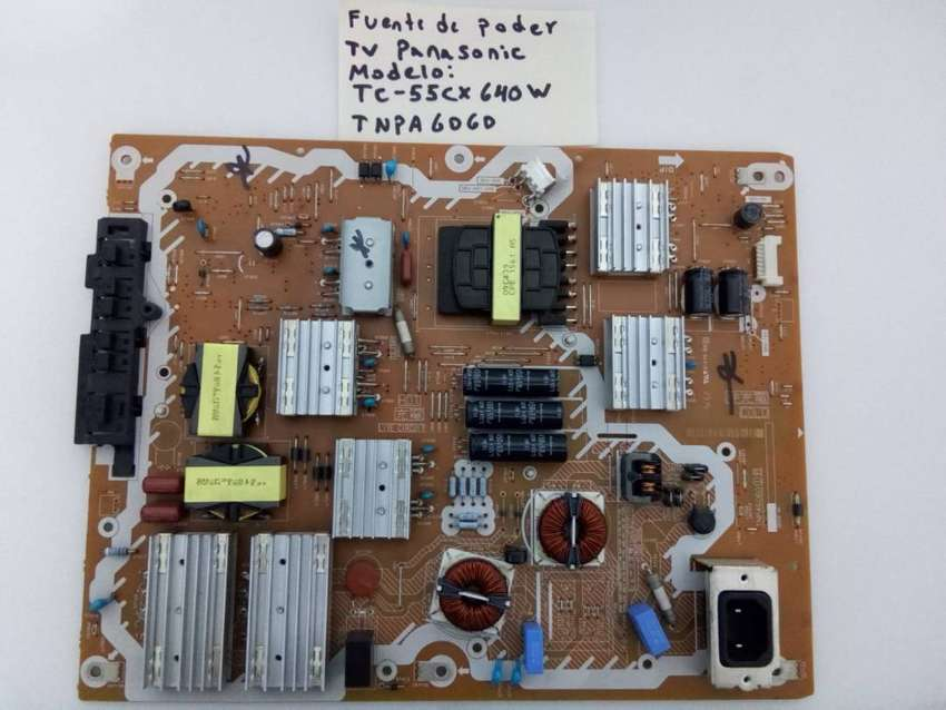 Fuente De Poder / Panasonic Tnpa6060 / Modelo Tc-55cx640w