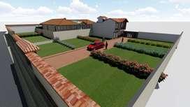 Venta de lotes con planos arquitectónicos en conjunto residencial Lucerna
