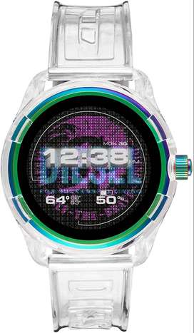 Reloj Diesel DZT2021 On Hombre Fadelight Gen 4 Metal and Silicone Touchscreen Smart with Heart Rate, GPS, Contactless Pa