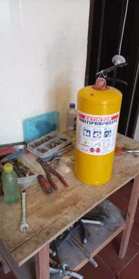 Reacarga mantenimiento y venta de extintores