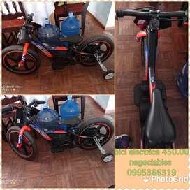 Vendo bici electrica