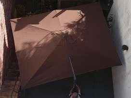 Sombrilla Parasol Roma de Exterior  3x4