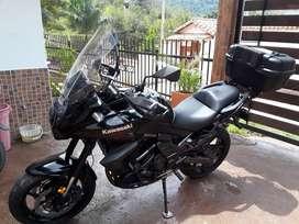 Kawasaki versys 650 como nueva