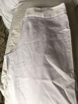 Pantalon Blanco Talla 12 Marca Avalin