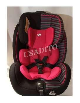 Silla para carro sirve de 0 a 7 años crece con el bebe, marca joie Infanti, usado buen estado
