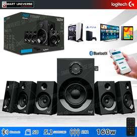 Parlantes Logitech 160W Z607 5.1 Usb Radio Bluetooth TV PC