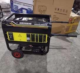 Alquiler de grupo electrógeno martillo eléctrico grande y maquina de soldar puesto en trabajo