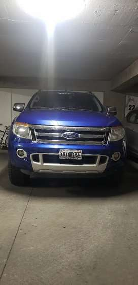 Ford ranger limited, manual 4×4 mod 2014