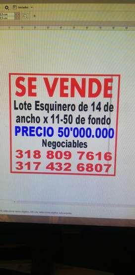 Lotes en Guacari Esquinero