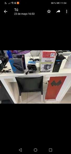 Remato escritorio mdf blanco