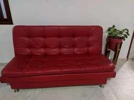 En venta mueble sofá cama