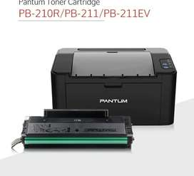 Impresora Laser Pantum P2502w Wifi Negro Monocromatica Refil