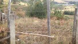 Terreno bonita vista en la Y a Cayambe