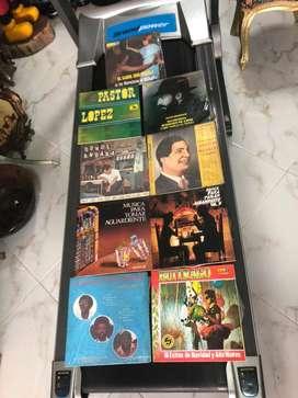 Antiguos discos en acetato