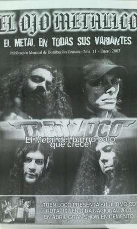Fanzine El ojo Metalico nro.11