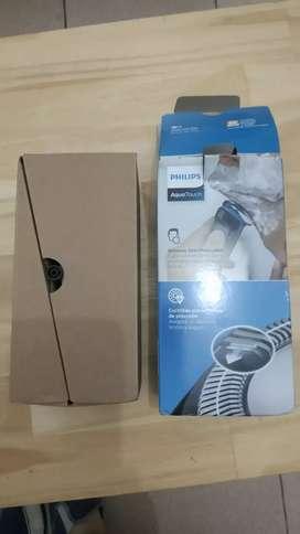 Afeitadora Philips aquatouch a bateria