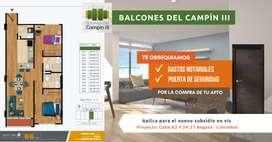 Apartamento Bogotá Barrio Campin Nuevos Constructora Tipo 2
