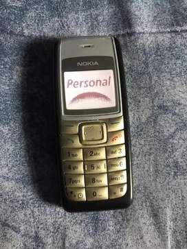 Nokia 1112 personal sin cargador