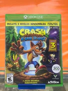 Juego Crash trilogia one