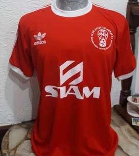 Camiseta huracan retro roja adidas