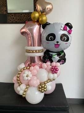 Hermosos arreglos de globos!!!
