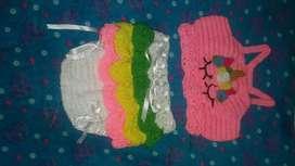 Cojuntos tejidos de bebes