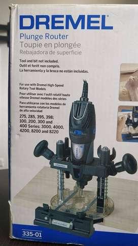 Base Para Mototool Fresar Dremel (335-01)