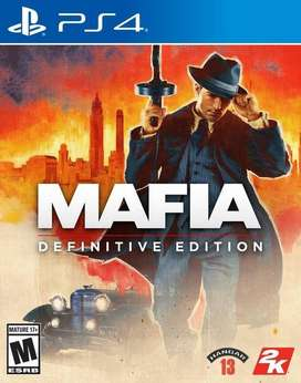 Mafia Definitive Edition Playstation 4 Ps4, Físico